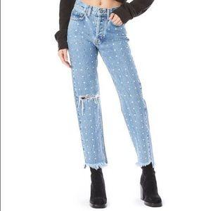 Carmar Rhinestone Jeans